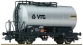 Modélisme ferroviaire : ROCO R67447 - Wagon citerne a essieux VTG