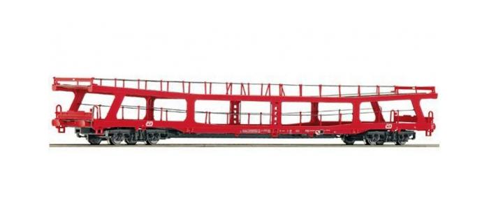 Modélisme ferroviaire : ROCO R67266 - Wagon porte auto CD