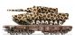 Train électrique : ROCO R67476 - Wagon plat + leopard OBB