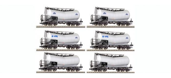 ROCO 67956 Coffret 12 wagons citernes de la SNCF/SNCB