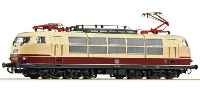 Modélisme ferroviaire : ROCO R72306 - Locomotive Br 103.225 DB