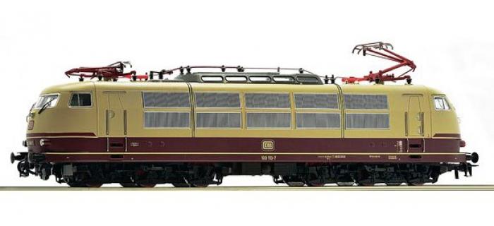 Modélisme ferroviaire : ROCO R72313 - Locomotive Br103 113 DB