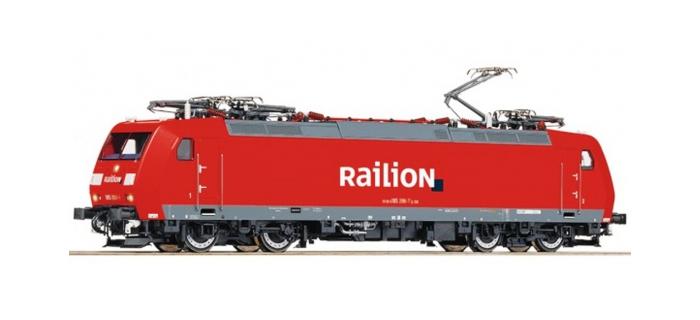 Modélisme ferroviaire : ROCO R72522 - Locomotive électrique Br185 DB