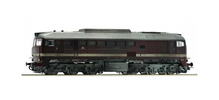 Train électrique : ROCO 72686 - Locomotive Br220 020 DR