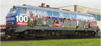 Train électrique : ROCO R72755 - Locomotive diésel Br218 SON DB