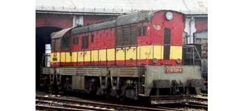 Train électrique : ROCO R72779 - Locomotive Rh770 ZSR ZSSK