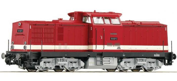 Modélisme ferroviaire : ROCO R72850 - Locomotive diesel BR 110 SON des DR.
