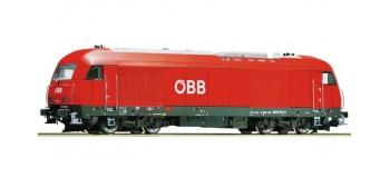 Modélisme ferroviaire : ROCO R72870 - Locomotive diesel 2016 OBB