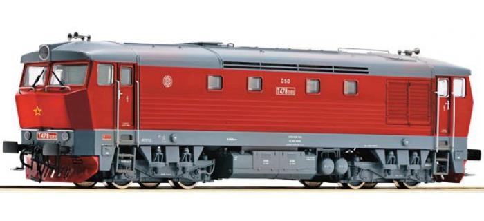 Train électrique : ROCO R72929 - Locomotive diesel T478.1096 SON CSD