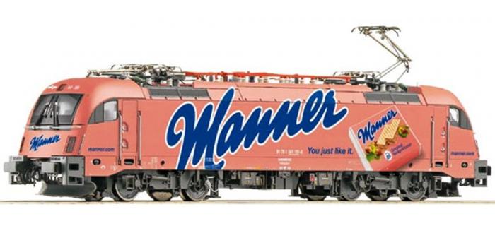 Train électrique - ROCO R73500 - Locomotive électrique Rh541 MANNER SZD
