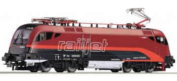Train électrique : ROCO 73530 - Locomotive électrique RH1116 RAILJET OBB.