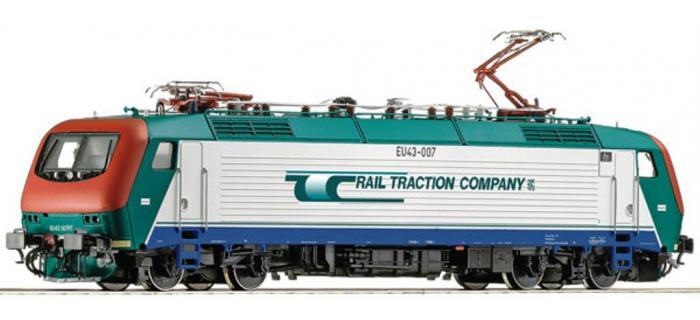 Train électrique : ROCO 73565 - Locomotive EU43.007 RTC