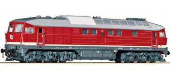 train électrique - Locomotive diésel Br132 son DR