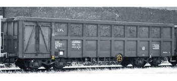 Train électrique : ROCO R76812 - Wagon tombereau Fas CFL