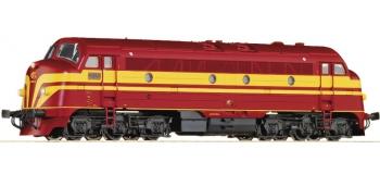 Modélisme ferroviaire : ROCO R72745 - Locomotive diésel Nohab 1604 AC sonorisée CFL