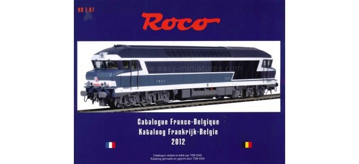 roco 80912 Catalogue 2012 France / Belgique, Roco + fleischman