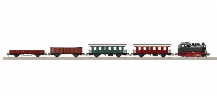 train électrique Roco 51244 Coffret numérique de départ BR80, train voyageurs / marchandises