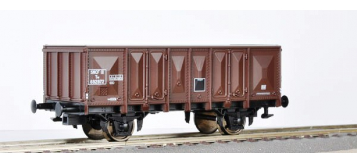 Modélisme ferroviaire : ROCO R56168 - Wagon tombereau SNCF