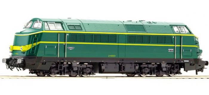 Train électrique :  ROCO R62822 - Locomotive diesel Série 60 origine SNCB