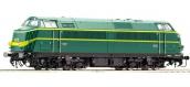 Train électrique : ROCO R62897 - Locomotive diesel série 60 verte SNCB