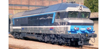 Locomotive diesel CC72006 Isabelle, SNCF, AC Digital Son