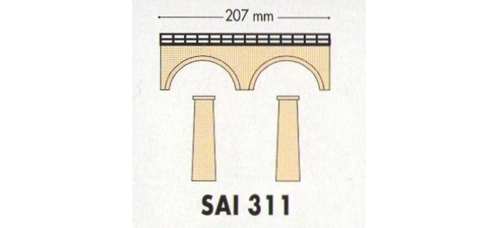 SAI 0311 - Petit pont routier (ou extension du viaduc SAI 0310) - SAI