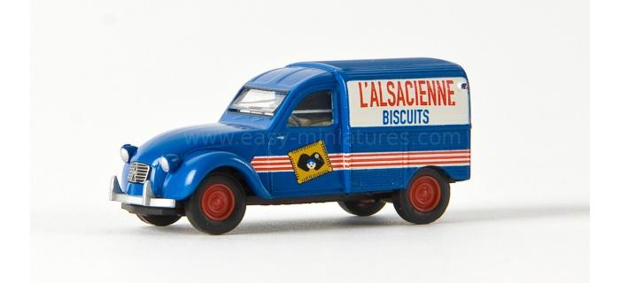 SAI 2068 / BRE 14136 - Citroen 2CV fourgonnette 1961 AZU l'alsacienne - SAI