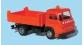 Train électrique : SAI 0810.1 - FOURGON SAVIEM SG3 Voirie, benne basculante avec gyrophare