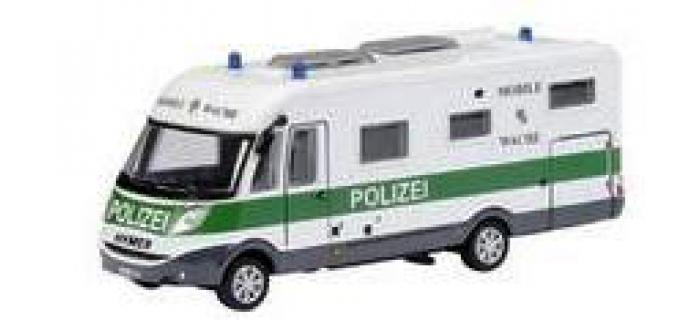 Train électrique : SCHUCO SCHU25783 - Véhicule de police