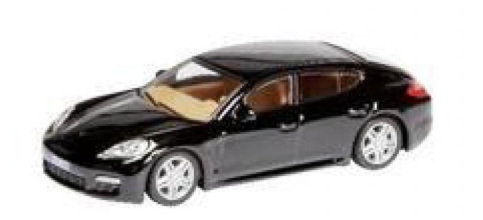 Train électrique : SCHUCO SCHU25842 - Porsche Panamera Noire