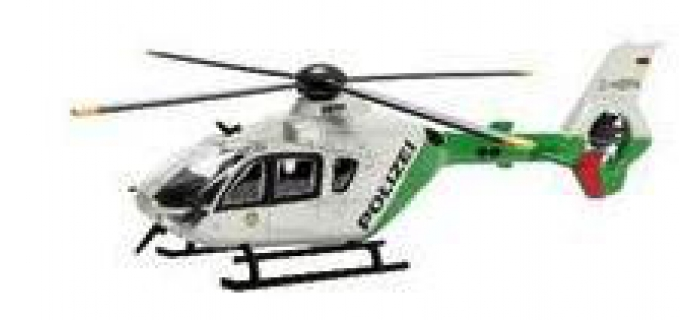 Train électrique : SCHUCO SCH25888 - Eurocopter de la police