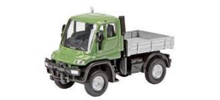 Train électrique :  SCHUCO SCHU25891 - Camion MB Unimog U300