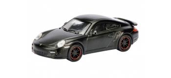 Train électrique : SCHUCO SCHU26094 - Porsche 911 Turbo (997) de couleur noire