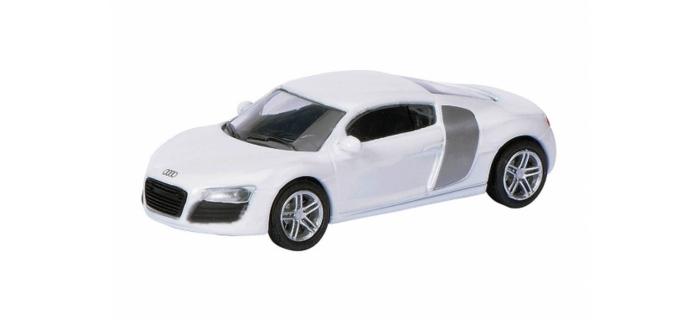 Train électrique : SCHUCO SCHU26100 - Audi R8 Coupé blanche