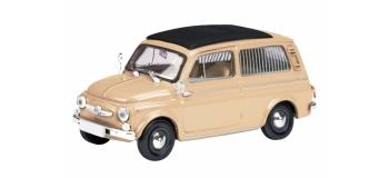SCHU26058 - Fiat 500COMBI BLANCHE 1/87 - Schuco