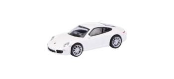 Modélisme ferroviaire : SCHUCO - SCHU452620900 -Porsche 911 (991) Carrera S Coupé Blanche
