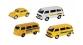 SCHU25959 - Set de 4 véhicules de service