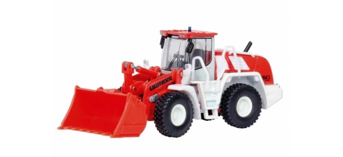 SCHU26029 - Chargeuse sur pneus Liebherr 550  - Schuco