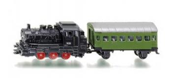 Train électrique : SIKU1657 - Loco wapeur + wagon voyageur
