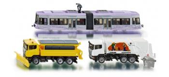 Modélisme ferroviaire : SIKU1816 - Coffret urbain