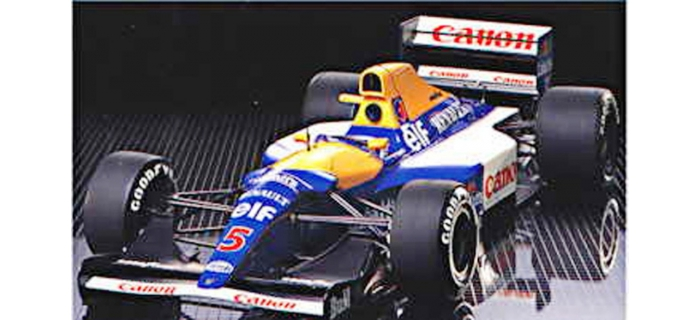 Maquettes : TAMIYA TAM12029 - Williams FW14B Renault