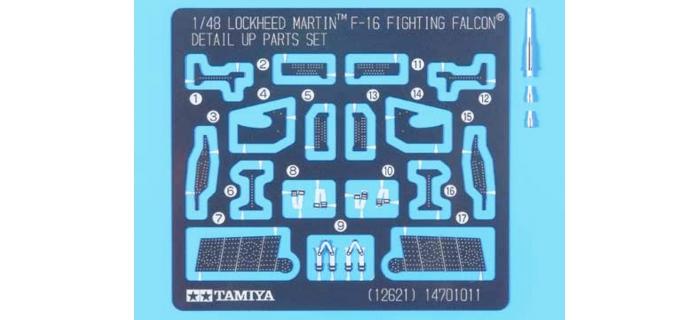 Maquettes : TAMIYA TAM12621 - Photo découpe F-16C