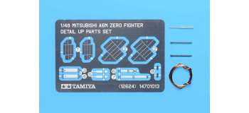 Maquettes : TAMIYA TAM12624 - Photo découpe A6M Zéro