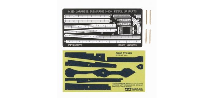 Maquettes : TAMIYA TAM12628 - Set de détails I 400