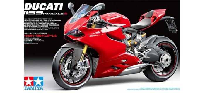 Maquettes : TAMIYA TAM14129 - Ducati 1199 Panigale S