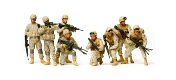 Maquettes : TAMIYA TAM32406 - Infanterie Moderne US en Irak