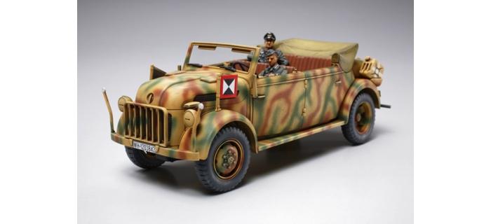 Maquettes : TAMIYA TAM32553 - Steyr Kommandeurwagen