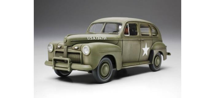 Maquettes : TAMIYA TAM32559 - U.S. Army Staff Car 1942