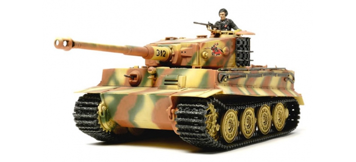 Maquettes : TAMIYA TAM32575 - Tiger I Production Tardive