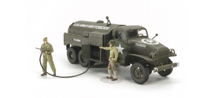 Maquettes : TAMIYA TAM32579 - Camion Citerne Aviation US